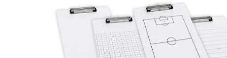 Tableau blanc porte-bloc